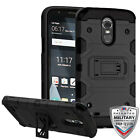 Black Storm Tank Hybrid Protector Impact Cover CASE For LG Stylus 3 /Stylo 3 NEW