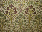 Art Nouveau Mulberry Thick Designer Jacquard Curtain Upholstery Cushion Fabric