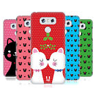 HEAD CASE DESIGNS CHRISTMAS CATS HARD BACK CASE FOR LG G6