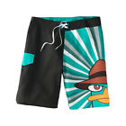 Disney Phineas & Ferb Perry The Platypus Board Shorts