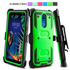 For LG K20 Plus K20 V Harmony Hybrid Shockproof Stand Defender Phone Case Cover