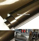 All Sizes - Brown 2D High Gloss Carbon Fiber Film Vinyl For Car Wrapping Sticker