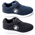 Boys Mesh Trainers Lace Up Footwear Shoes By Santa Monica Polo Club Sizes 9-13