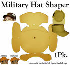 Army Cap Insert| Hat Cleaning Aide| Hat Crown Shaper| Hat Travel Panel Organizer