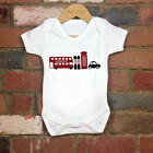 2017 Funny 100% Cotton Solder Bus Phone Car Baby Bodysuit Grow Gift Nontoxic Ink