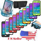 WATERPROOF SHOCKPROOF DIRTPROOF CASE COVER FOR SAMSUNG GALAXY S4 S5 S6 S4 MINI