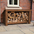 Langham Major Outdoor Wooden Logstore - Heavy Duty