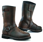 TCX Mens Vintage Brown CE FUEL WATERPROOF Motorcycle Touring Boots 2017