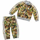 ADIDAS SUPERSTAR KINDER TRAININGSANZUG BABY SPORT ANZUG CAMOUFLAGE BASKETBALL