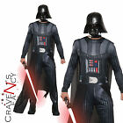 Adult Mens Darth Vader Costume Star Wars Film Fancy Dress Outfit 80s New Villain