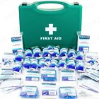 LARGE 50 PERSON HSE APPROVED FIRST AID CATERING KIT Canteen Kitchen Safety Box