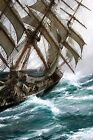 Wind in the Rigging Painting by Montague Dawson Art Reproduction