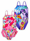 Girls My Little Pony Swimsuit New Kids Summer Swimwear Bathing Suit Ages 6 8 Yrs