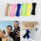 4 x Finger Grip Elastic Phone Holder Selfie Strap For All iPhone Phone iPad