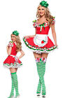Sexy Ladies Adult Strawberry Shortcake Costume