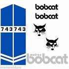 Bobcat 743 DECALS Stickers Skid Steer loader New Repro decal Kit