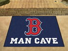 Boston Red Sox Man Cave Area Rug Choose from 4 Sizes
