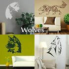 Wolf Wall Stickers Transfer Graphic Decal Decor Stencil Large Art Sticker wolves