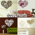 Love Heart Wall Stickers! Girls Home Transfer Graphic / Decal Decor Stencil Art