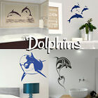 Dolphin Wall Stickers! Cute Transfer Graphic Girls Room Decal Decor Stencil Art
