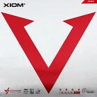 XIOM VEGA ASIA DF Table Tennis Rubber Ping Pong 2.0mm/MAX Red/Black