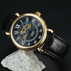 2017 Latest Men Stainless Steel Case High Quality Skeleton Automatic Sport Watch