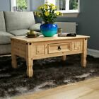 Corona Solid Pine Mexican Living Dining Room Bedroom Waxed Furniture