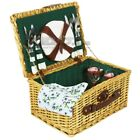 ZQ1-3756 Wicker picnic basket for 4 people