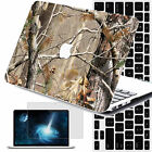 """3in1 Tree Camo Painted Hard Rubberized Case Cover Macbook Pro Air 11"""" 12"""" 13"""" 15"""