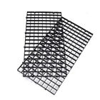 Grid Divider Tray Egg Crate Aquarium FishTank Filter Bottom Isolate Black White