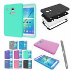 Defender Shockproof Case Cover Glass Screen protector For Samsung Tab E 8.0 T377