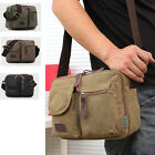 Chic Men'S Male Canvas Business Zippers Handbag Shoulder Crossbody Bags