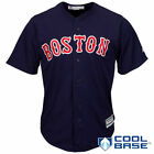 Majestic Boston Red Sox Navy Official Cool Base Jersey - MLB