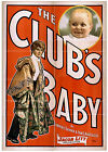 Photo Print Vintage Poster: Stage Theatre Flyer The Clubs Baby 01
