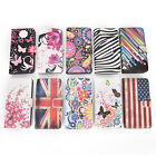 Flower Flip PU Leather Wallet Stand Case Cover For Samsung Galaxy S7edge JR