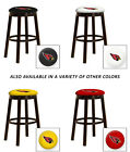 "AZ CARDINALS 24"" & 28"" ESPRESSO WOOD METAL GAME ROOM MAN CAVE SHE SHED BAR STOOL"