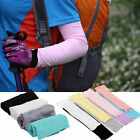Cooling Arm Sleeves Cover UV Sun Protection Basketball Cycling Arm Gloves 1 Pair
