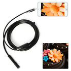2M/5M Waterproof 7mm 6 LED Endoscope Borescope Inspection Video Camera Tube