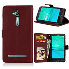 Photo 3 Card Wallet Leather Flip Case Cover Stand For Asus Zenfone 2 6  3 GO Max
