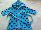 NEW***The Baby Company® Baby Boys Fleece Hoodie Gown***Blue***Up to 12 months