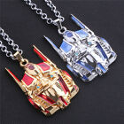 Transformers Optimus Prime Mask Enamel Chain Pendant Necklace Jewelry Gift