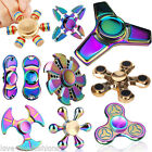 Multi Shape Metal Hand Spinner Fidget Anti-Anxiety Time Killing Toy