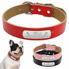 Leather Personalized Dog Collars Cheap Custom Made Collars for Dogs XS S M