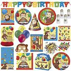 Curious George Children's Birthday Party Tableware Decorations Supplies