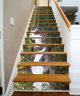 3D Stone water Stair Risers Decoration Photo Mural Vinyl Decal Wallpaper AU