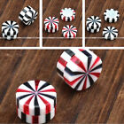Acrylic Stripe Magnetic Fake Cheater Expander Clip On Earrings No Piercing US