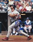 MIKE MATHENY  ST. LOUS CARDINALS  ACTION SIGNED 8x10