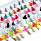 Tassle / Tassel Fringe Trim on Braid 3.5cm wide - Colour Choice - Pastel Brights