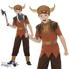 Boys Viking Fancy Dress Costume Medieval Warrior Saxon Historical Book Week Day