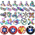 Rainbow EDC Hand Spinner Tri Fidget Focus Desk Toys Stocking Stuffer Kids/Adult